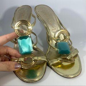 Casedei jeweled sandals